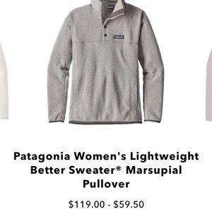 🤍Patagonia Gray Half Button Sweatshirt